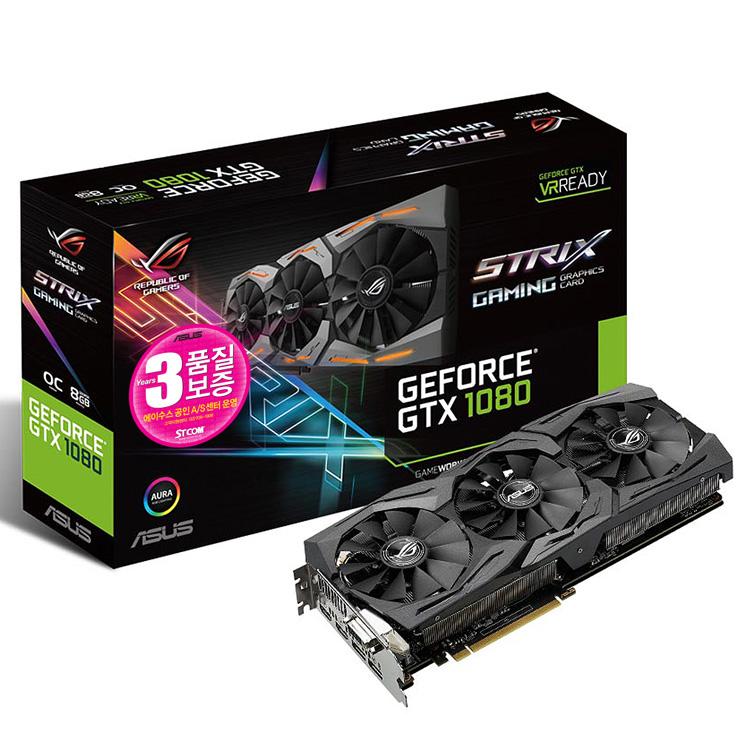 STRIX GTX1080 STCOM