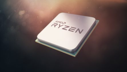 9312_AMD Ryzen_4K.tif AMD Ryzen Chip Render with Background