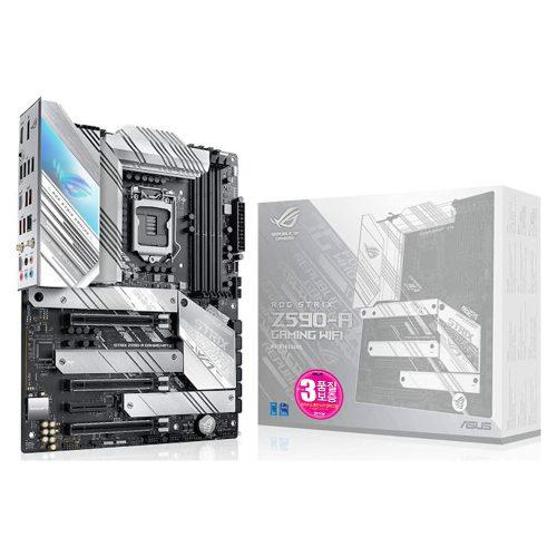 [보도자료 이미지] STCOM, 14+2 전원부 설계와 화이트 디자인! ASUS ROG STRIX Z590-A GAMING WiFi 메인보드 출시!